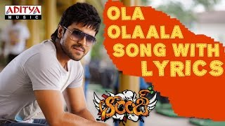Orange Full Songs With Lyrics - Ola Olaala Song - Ram Charan Tej, Genelia