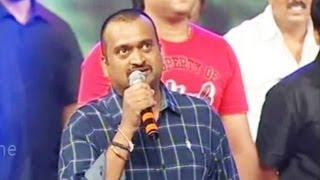 Bandla Ganesh Ultimate Full Speech - Iddarammayilatho Audio Launch