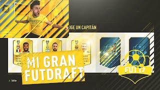 MI PRIMER GRAN FUT DRAFT DE FIFA 17