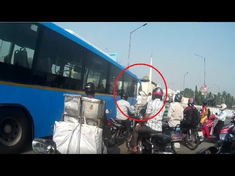 People angry on BMTC bus driver | Love my bike exhaust | Bangalore Traffic
