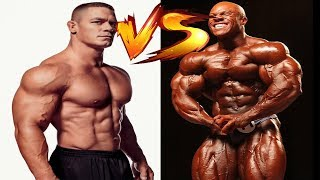 John Cena vs Phil Heath Transformation From 4 to 41 Years Old