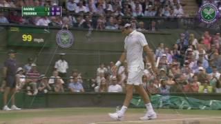 2016, Day 11 Highlights, Roger Federer vs Milos Raonic
