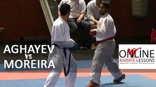 Rafael Aghayev (AZE) vs Nuno Moreira (POR) Karate1 Premier League Dutch Open 2015