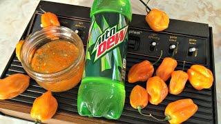 GAMER EATS - Mountain Dew Pepper Jam