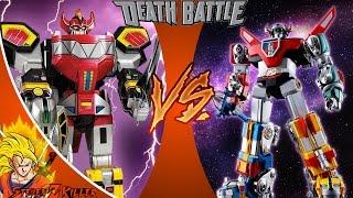 Power Rangers VS Voltron _ DEATH BATTLE! REACTION!!!