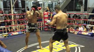 Andronikos(Cyprus)vs Can(Tiger Muay Thai Turkey)