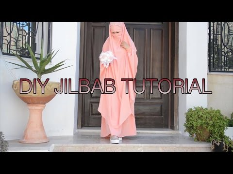 DIY| HOW TO MAKE JILBAB BY YOURSELF💁| Bobiz Kollection