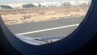 Plane Take Off - Inside View