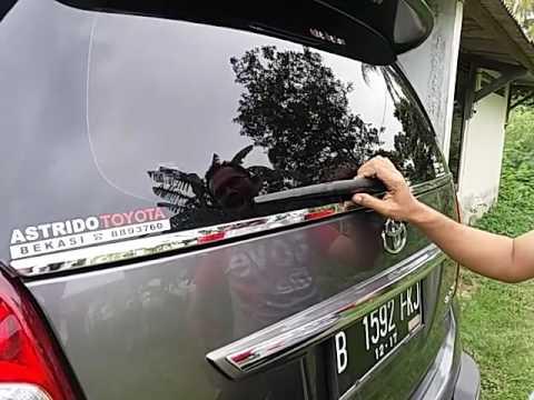 Cara Ganti Wiper Belakang dengan Mudah (Rear wiper)