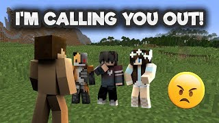 I'M CALLING OUT THE HATERS..... YOU ALL OWE ME AN APOLOGY! (EXPOSED) | Minecraft Factions
