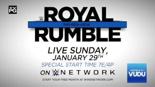 WWE Royal Rumble 2017: Cena vs. Styles – Live Sunday, Jan. 29