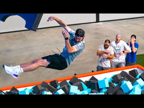 Giant Foam Pit Dude Perfect