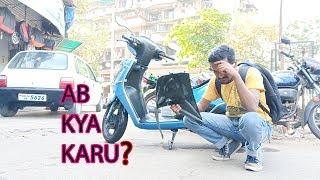 DESTROYING TVS JUPITER || Sangram Singh Vlogs