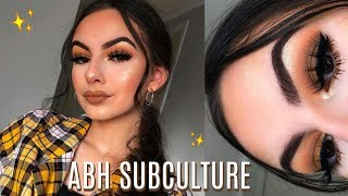 MUSTARD SMOKEY EYE MAKEUP TUTORIAL! | ft. ABH Subculture Palette