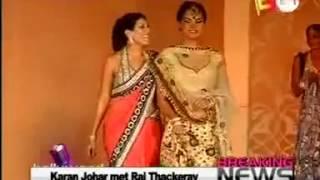 Maheka Mirpuri with Lara Dutta on E24