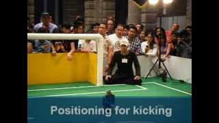Cyberlords La Salle RoboCup 2009 Humanoid KidSize League in Graz - Qualification Video