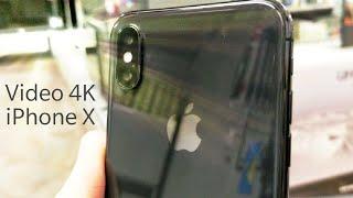 iPhone X prova Video 4K