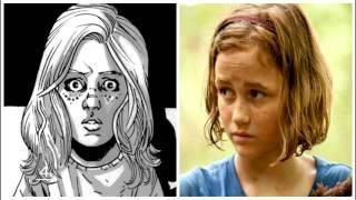 5 اختلافات بين كوميكس The Walking Dead والمسلسل
