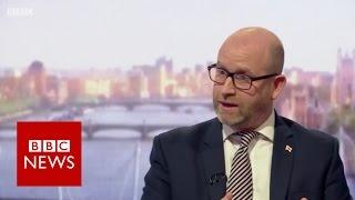 UKIP leader Paul Nuttall on burka ban - BBC News