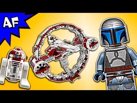 Xxx Mp4 Lego Star Wars Ep II Jedi Starfighter With Hyperdrive 75191 Speed Build 3gp Sex
