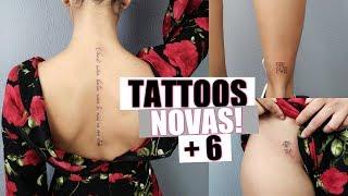 MINHAS NOVAS TATUAGENS (SIG)  | Nicole Prazeres