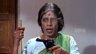 VK Ramaswamy and Nagesh Bank Comedy | Kudiyiruntha Kovil Tamil Movie | Nagesh