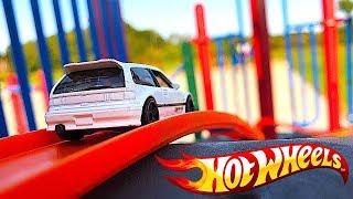 Hot Wheels Playground Track!