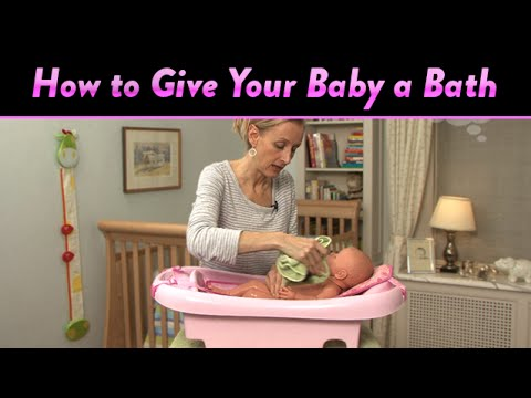 How to Give Your Baby a Bath | CloudMom