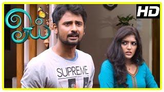 Oyee Tamil Movie Scenes | Eesha lies she loves Geethan to his family | Nagineedu | Arjunan