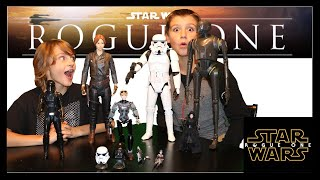 ROGUE ONE MYSTERY BOX!!!  New Star Wars actions figures, lego, & more!