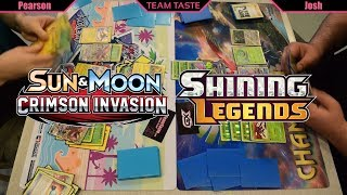 Shining Genesect/Venusaur vs VikaBulu! (Shining Legends/Crimson Invasion Legal!)