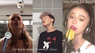 Who Sang It Best? Lewis Blissett Vs. Haley Sullivan Vs. Emery Bingham