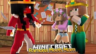Minecraft Royal Family : RAMONA & MOM MEET AGAIN! (Roleplay) w/LittleKelly&LittleCarly