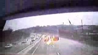 Anjo de fogo aparece na caravana Ap. Renê (Fire Angel in Israel) aparição