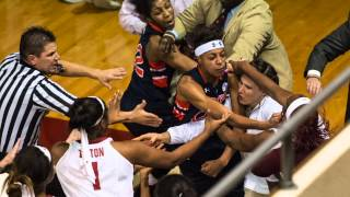 Brawl at Alabama Auburn women