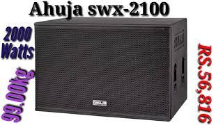 Ahuja High power swx-2100 {2000 watts}