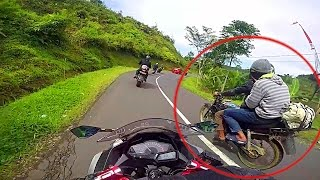 Modus Begal saat dijalan Hati hati | Harus Tau supaya aman | ninja 250 guntur wibowo