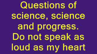 Coldplay - The Scientist Lyrics