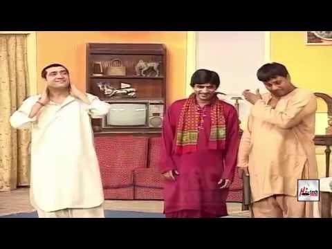 Best of Zafri Khan, Sajan Abbas, Tahir Nushad & Anjuman Shehzadi - PAKISTANI STAGE DRAMA COMEDY CLIP