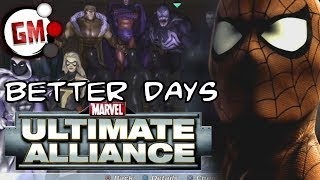 THE BETTER DAYS OF MARVEL - Ultimate Alliance Review