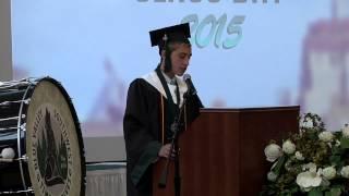 Funny High School Graduation Speech