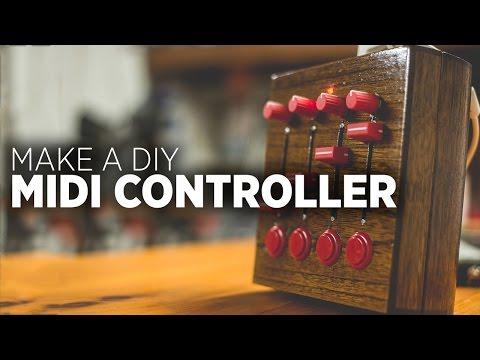 How To Build A DIY MIDI Controller 2015 Edition