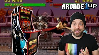 Arcade1UP Announces MORTAL KOMBAT And More for 2019!   RGT 85