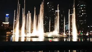 Burj Khalifa Fountain - Michael Jackson Thriller