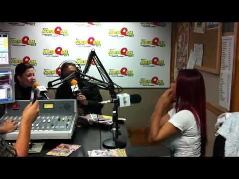 Deysi Araujo en una divertida entrevista con Edwin Sierra