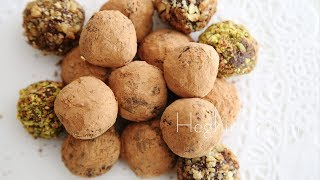 Homemade Chocolate Truffles Recipe - Heghineh Cooking Show