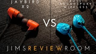 Jaybird X2 vs BOSE SoundSport Wireless - VERSUS VIDEO
