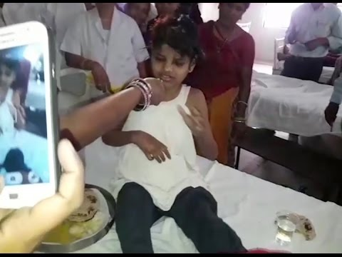 Girl found in forest living with monkeys