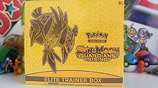 Opening A Guardians Rising Elite Trainer Box!