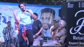 Sajjan Rumaal De Gaya - Babbu Maan (Live Performance) in Chandigarh || KHULLA AKHARA